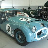 Wil Arif and Paul Ziller driven Triumph TR2